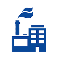 factory disinfecting service icon
