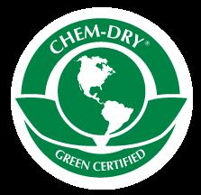 green certified chem-dry logo